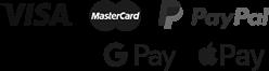 Payment Options: Visa, Mastercard, PayPal