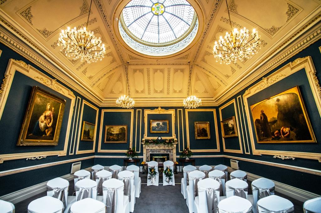 Civil Wedding Ceremony St. Stephen's Green Hibernian Club