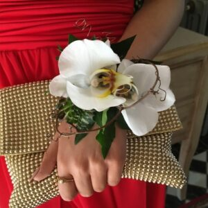 Wrist corsage from our collection in wedding flower images