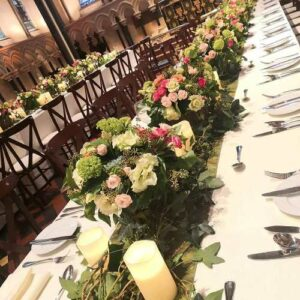 Corporate event flowers at St. Patrick's Cathedral Dublin - image from flowers for events gallery