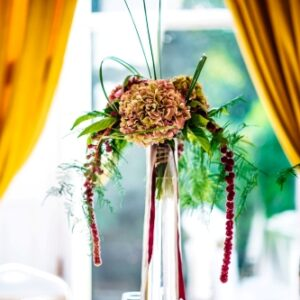 flowers at Stephens Green Hibernian Club - image from flowers for events gallery