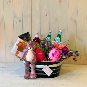 Gift Hamper and Flowers