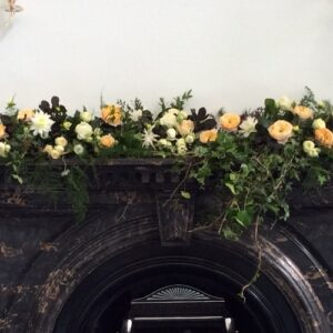 Dressed mantle at Royal College of Physicians Dublin from our gallery of wedding flower images