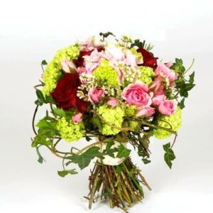 Colourful bridal flower bouquet from our collection of seasonal wedding flower images