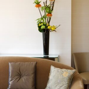 Office flower arrangement for boardroom - image from flowers for events gallery