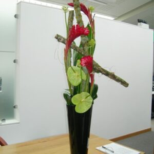 Ginger and anthurium flower arrangement - image from flowers for events gallery