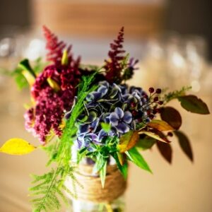 Pod table flower arrangements - image from flowers for events gallery