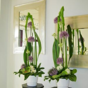 Tall corporate flower arrangements - image from flowers for events gallery