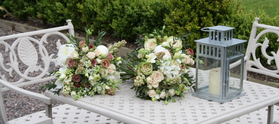 Wedding flowers Brides and Bridesmaids Bouquets
