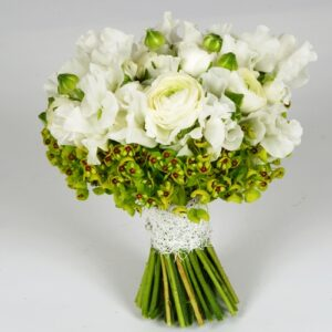 From our wedding flowers pictures white brides bouquet