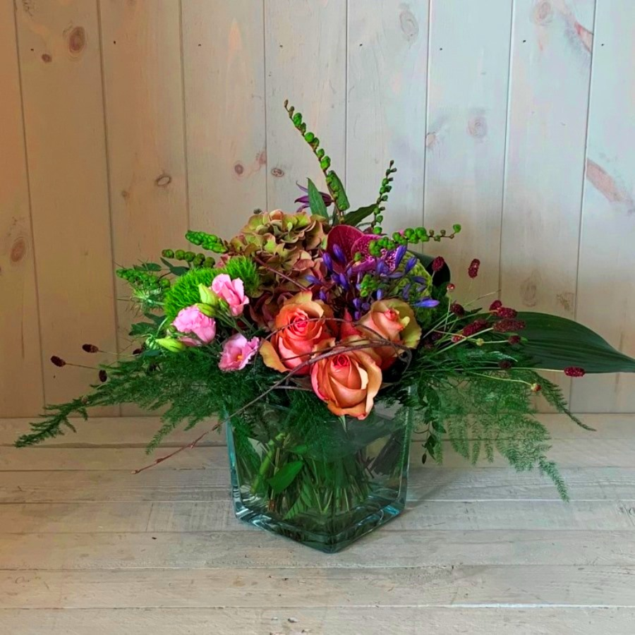 Autumn flower arrangement with delivery in Dublin