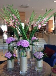 flowers for hotels restaurants and venues