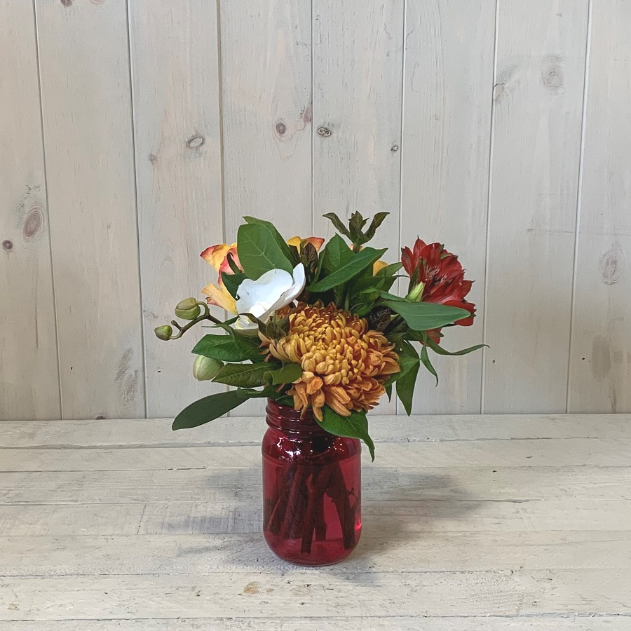 Flowers in a Jar – Click and Collect Only