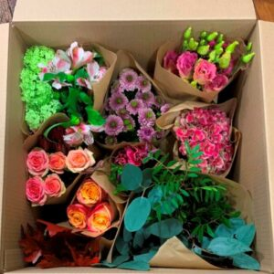 Make your own bouquet. Full bouquet ingredients delivered in Dublin