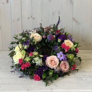 Colourful funeral tributes. Designed in Ranelagh and delivered across Dublin or order to collect