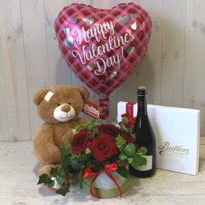 Happy St. Valentine's Day. Valentines flowers and gifts for delivery in Dublin.