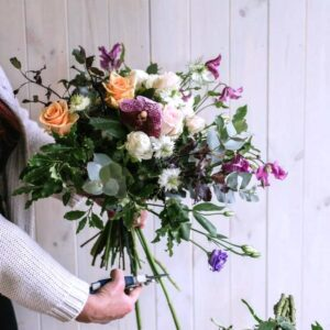 Catch of the day flower bouquet. Florists choice flower bouquets