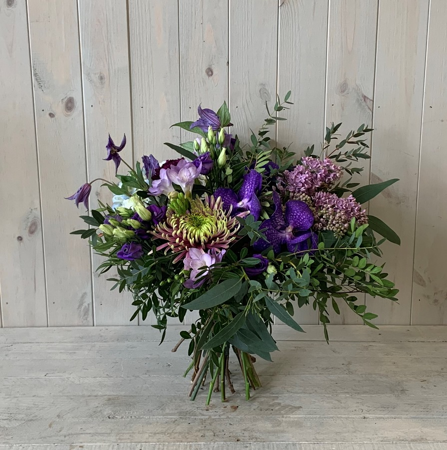 Blue Summer Flower Bouqyuet available to order to collect or for delivery in Dubliner flowers for home delivery