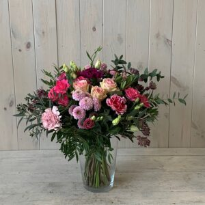 Pinks Flower Bouquet for delivery in Dublin or order to click and collectlable